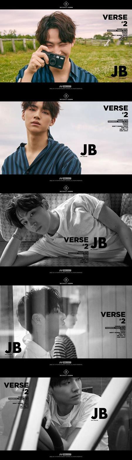 「JJ Project」、JBのビジュアルティーザーを公開! (提供:OSEN)