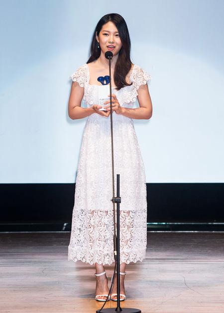 女優パク・ジス、「BIFAN 2017」長編主演女優賞を受賞 「大きな誕生日プレゼントをもらった」(提供:news1)