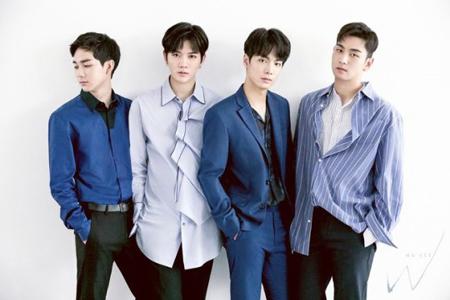 韓国ボーイズグループ「NU'EST」の4人のメンバーが組んだ新しいユニット「NU'EST W」が、夢をかなえた。(提供:OSEN)