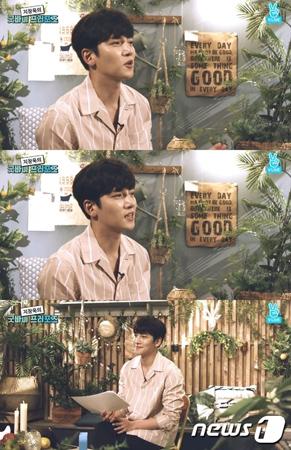 軍入隊を控えた韓国俳優チ・チャンウク(30)が、ネット放送でファンとコミュニケーションをとる時間を設けた。(提供:news1)
