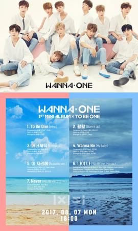 注目の韓国新人アイドルグループ「Wanna One」のデビューアルバムトラックリストが公開された。(提供:OSEN)
