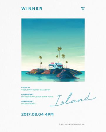 「WINNER」、新曲名「ISLAND」を公開…ダブルタイトル曲でカムバックを予告! (提供:OSEN)
