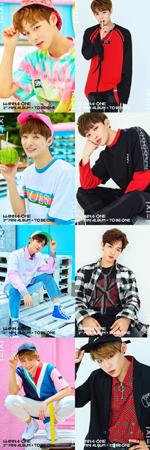 韓国新人アイドルグループ「Wanna One」がデビューティザーを公開した。(提供:OSEN)