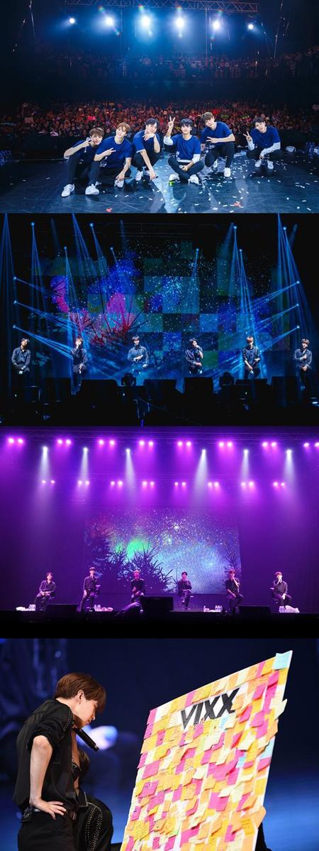 「VIXX」、東南アジア3か国ツアーを成功裏に終了(提供:OSEN)