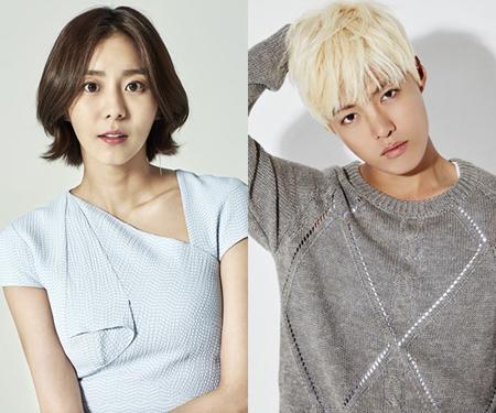 韓国女優ユイ(29)と歌手兼タレントのKangNam(30)が、交際を認めてから1か月も経たずに破局を迎えた。(提供:OSEN)