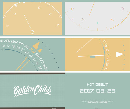 「INFINITE」弟グループ「Golden Child」、8月28日にデビュー確定! (提供:OSEN)