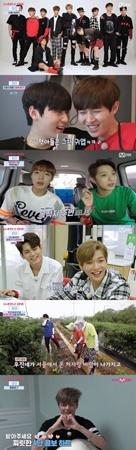 韓国新人ボーイズグループ「Wanna One」メンバーの11人が登場するリアルバラエティー番組「Wanna One Go」がついに放送を開始した。(提供:OSEN)