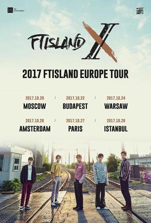 デビュー10周年を迎えた韓国バンド「FTISLAND」が、ヨーロッパツアーを開催する。(提供:OSEN)