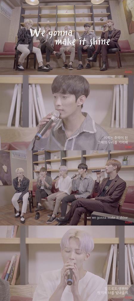 韓国アイドルグループ「SEVENTEEN」のボーカルユニットが「We gonna make it shine」2017年バージョンの歌映像を公開した。(提供:OSEN)