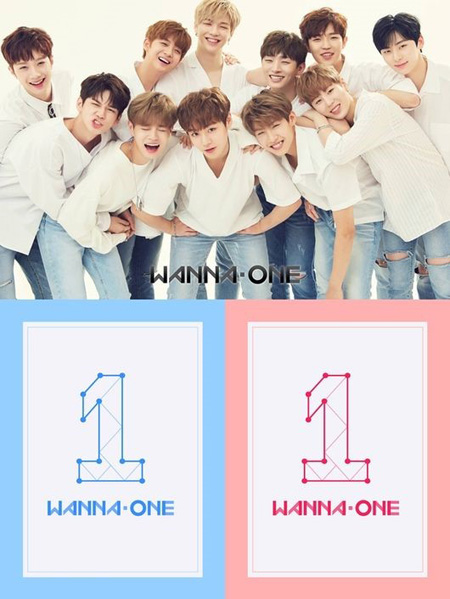「Wanna One」、デビューアルバム予約注文52万枚突破! (提供:OSEN)