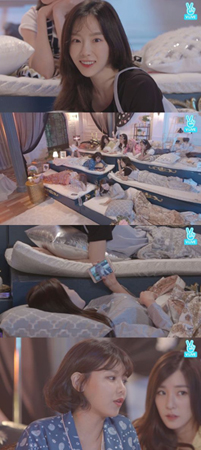 韓国ガールズグループ「少女時代」が10周年を迎え、メンバー同士で感謝の気持ちを伝えあった。(提供:OSEN)