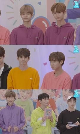 """韓国ボーイズグループ「Wanna One」が、音源チャートで""""オールキル""""になった感想と感謝の気持ちを伝えた。(提供:OSEN)"""