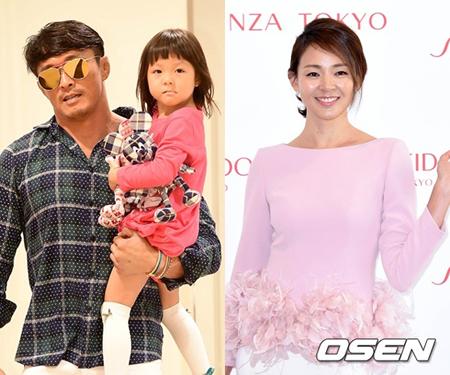 格闘家の秋山成勲一家が出演する韓国SBSの新バラエティー番組が26日から放送を開始する。(提供:OSEN)