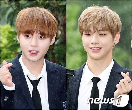韓国アイドルグループ「Wanna One」のカン・ダニエルとパク・ジフンが「一食ください」に出演する。(提供:news1)