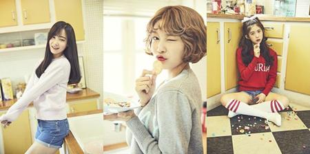 韓国ガールズグループ「MOMOLAND」メンバーのヨヌ、ヘビン、デイジーが、ビューティー番組「THE BEAUTY」のMCに抜擢された。(提供:OSEN)