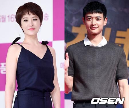 """韓国女優キム・ソナとボーイズグループ「SHINee」メンバーのミンホが、バラエティー番組「一食ください」の""""ごはん友達""""として出演する。(提供:OSEN)"""