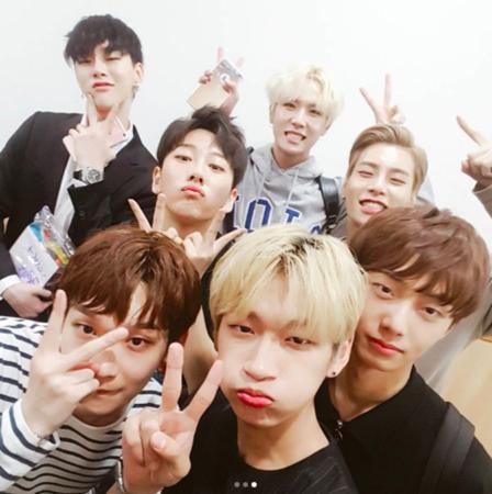 韓国アイドルグループ「JBJ」がガイドレコーディングを進行し、デビュー準備に入った。(提供:OSEN)