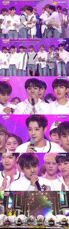 韓国ボーイズグループ「Wanna One」がデビューと同時に1位を獲得した。(提供:OSEN)