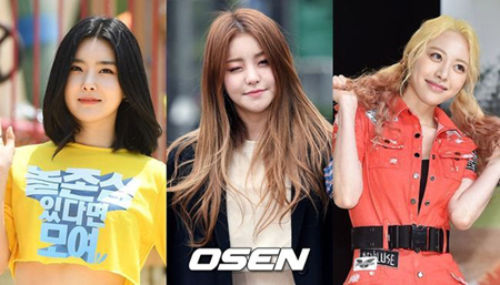 韓国ガールズグループ「Brave Girls」のユジョン(26)、ウンジ(25)、ユナ(24)が「THE UNIT」に出撃する。