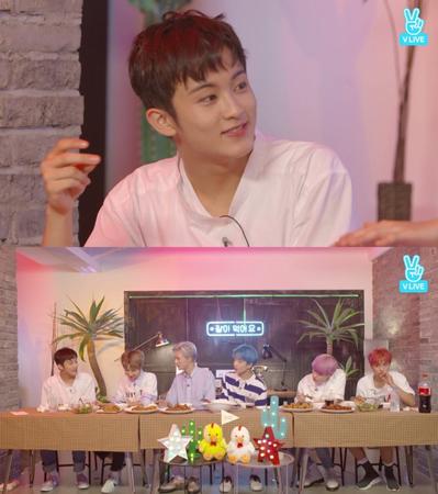 韓国ボーイズグループ「NCT DREAM」メンバーのMARKが、ミュージックビデオ撮影のエピソードを公開した。(提供:news1)