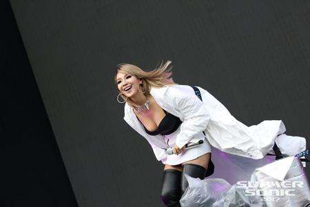 元「2NE1」のCL、SUMMER SONIC 2017 のメインステージで観客を魅了!  「Black Eyed Peas」との生コラボレーションステージも実現!!