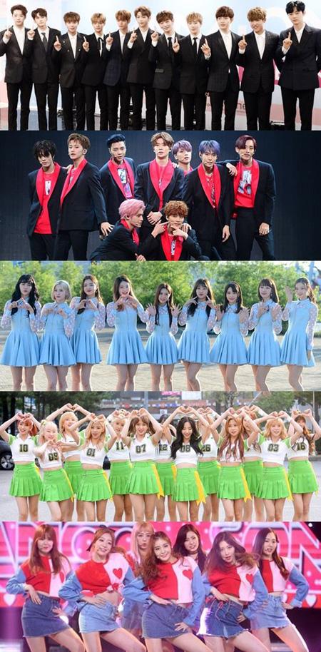 「Wanna One」・「NCT 127」・「DIA」ら、「SORIBADA  AWARDS」出演へ=9月20日に開催(提供:OSEN)