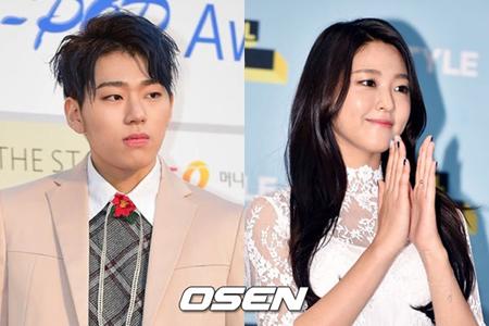 韓国ボーイズグループ「Block B」メンバーのジコが、ガールズグループ「AOA」のソリョンとの復縁説に対して全面的に反論した。(提供:OSEN)