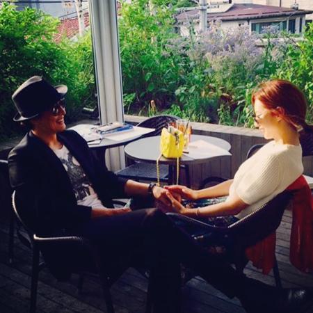 韓国俳優ペ・ヨンジュン(44)と女優パク・スジン(31)夫婦が二児の父母になる。(提供:OSEN)