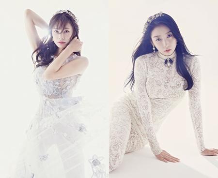 韓国ガールズグループ「STELLAR」の初期メンバーとなるガヨンとチョンユルが、グループを卒業する。(提供:OSEN)