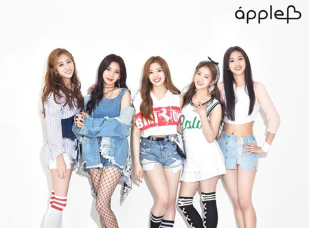 新人アイドルグループ「APPLE.B」、宿舎から出火…メンバーは無事(画像:OSEN)