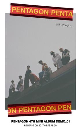 韓国アイドルグループ「PENTAGON」が来る9月6日、4thミニアルバム「DEMO_01」でカムバックする。(提供:OSEN)
