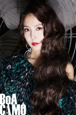 デビュー17周年を迎えた韓国歌手BoA(30)の「CAMO」舞台映像が公開された。(提供:OSEN)