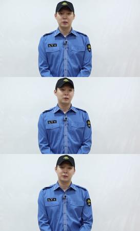 国防の義務を終えた韓国ボーイズグループ「JYJ」メンバーのユチョン(31)が、ファンに向けて公にあいさつをした。(提供:OSEN)