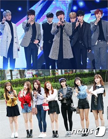 韓国ボーイズグループ「B1A4」とガールズグループ「OH MY GIRL」の所属事務所が、所属アーティストに対する虚偽内容の流布や名誉棄損に関して法的措置をすると伝えた。(提供:news1)