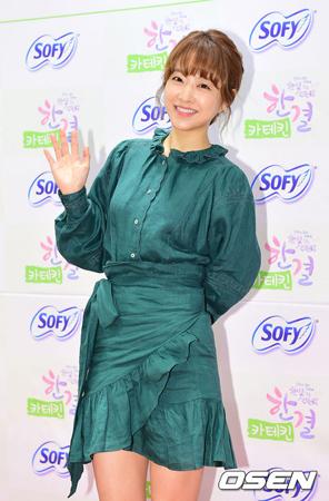 韓国女優パク・ボヨン(27)が、じん帯の手術をして現在はほぼ回復していると伝えた。(提供:OSEN)