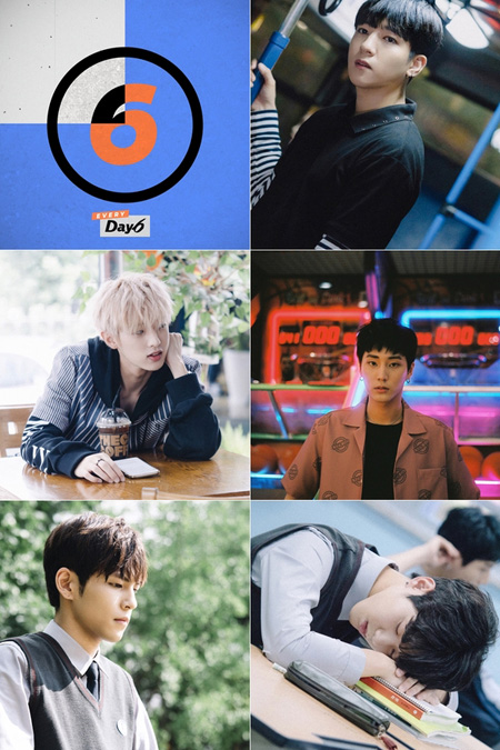 「DAY6」、中国最大の音源サイトで1位獲得! (提供:news1)