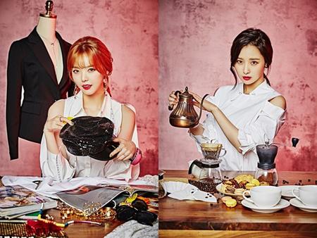 「Dal★shabet」セリ&ウヒ、KBS再起オーディション「THE UNIT」出演確定(提供:news1)