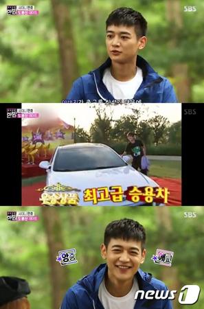 韓国ボーイズグループ「SHINee」メンバーのミンホ(25)が、道峰(トボン)山でインタビューをおこなった。(提供:news1)