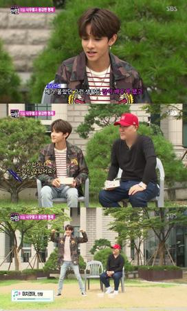 韓国歌手サムエルが、Mnetのオーディション番組「PRODUCE 101(プロデュース101)」シーズン2を終えた感想を改めて語った。(提供:OSEN)