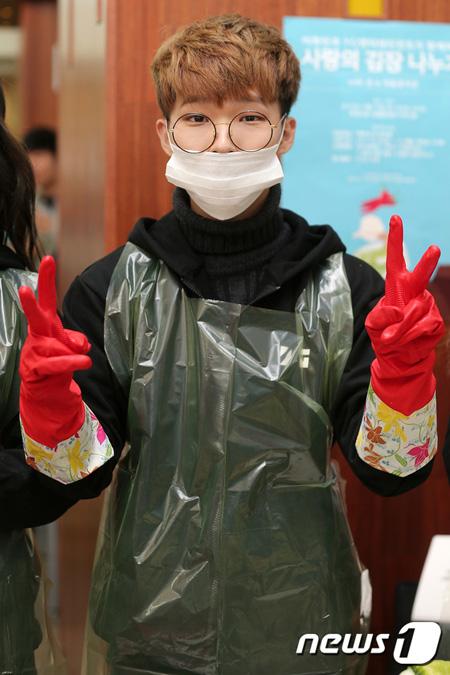 韓国兄妹デュオ「楽童ミュージシャン」のイ・チャンヒョクが9月18日、海兵隊に入隊することがわかった。(提供:news1)