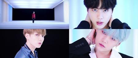 アルバム発売を目前に控えた韓国ボーイズグループ「防弾少年団」が、2つ目のティーザー映像を公開した。(提供:OSEN)
