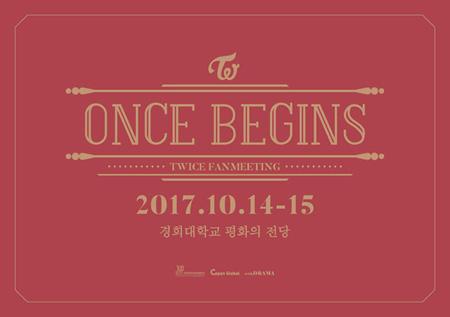 韓国ガールズグループ「TWICE」が、10月14日と15日にデビュー2周年を記念するファンミーティングを開催する。(提供:OSEN)