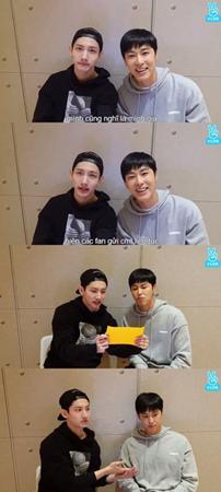 韓国ボーイズグループ「東方神起」が初めてVアプリに挑戦し、ファンと交流する時間を持った。(提供:OSEN)