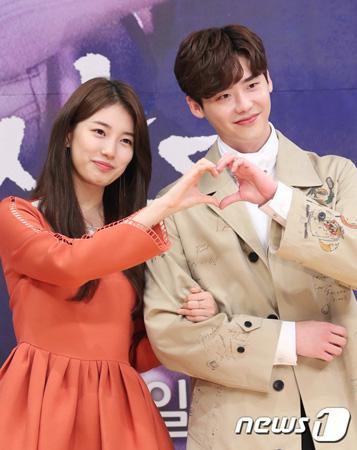 韓国女優ペ・スジ(22、Miss A)が俳優イ・ジョンソク(28)との共演について言及した。