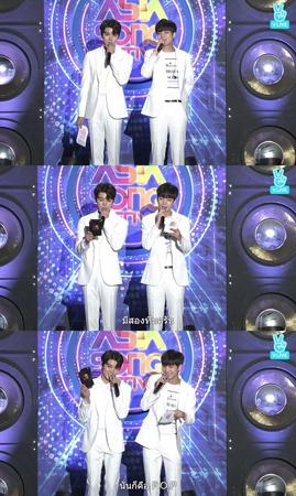 韓国ボーイズグループ「NU'EST W」が、「ASIA SONG FESTIVAL」を熱くした。(提供:OSEN)