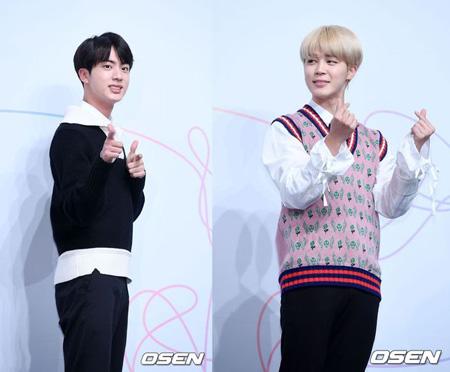 「防弾少年団」ジン&ジミン、JTBC「冷蔵庫をお願い」に出演=10月放送予定(提供:OSEN)