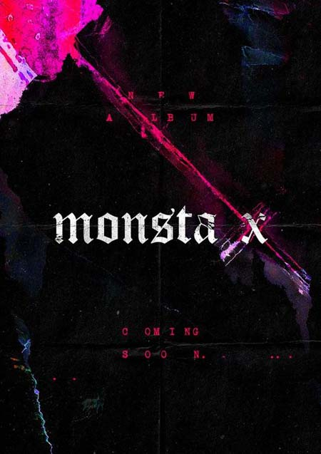 "「MONSTA X」、11月""完全体""でカムバック! 予告ポスターを公開(提供:OSEN)"