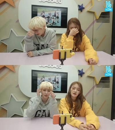 韓国ガールズグループ「DIA」メンバーのイェビンとソミが、ウンチェとのエピソードを紹介した。(提供:news1)