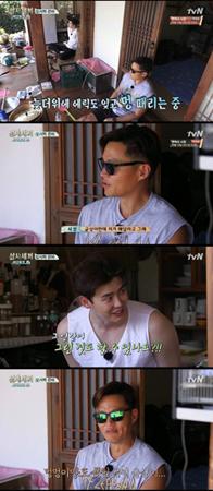 韓国俳優イ・ジョンソクが、ユン・ギュンサンの料理の実力に不信感を抱いた。(提供:news1)