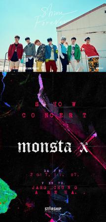 """韓国ボーイズグループ「MONSTA X」が、新曲カムバック""""ショーコン""""を開催する。(提供:OSEN)"""